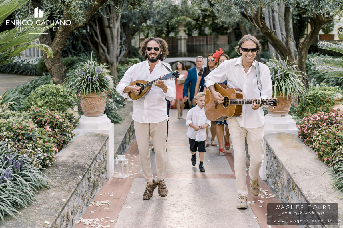 Your Wedding Is Starting Contactin Us Infowagnertoursit A Neapolitan Duo For First Toast After The CeremonyThe Mandolin And Guitar Are Soul Of