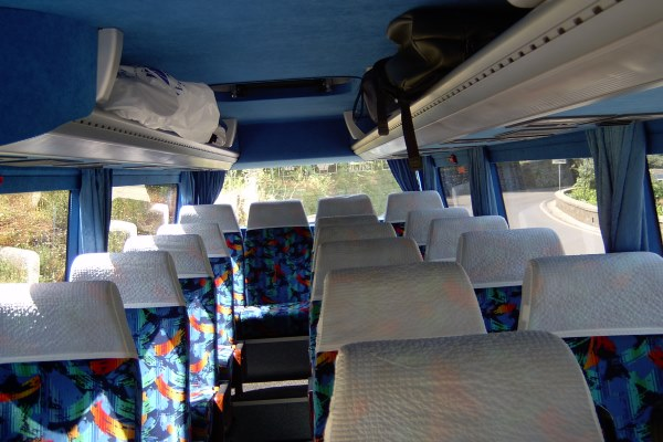bus from naples airport to salerno