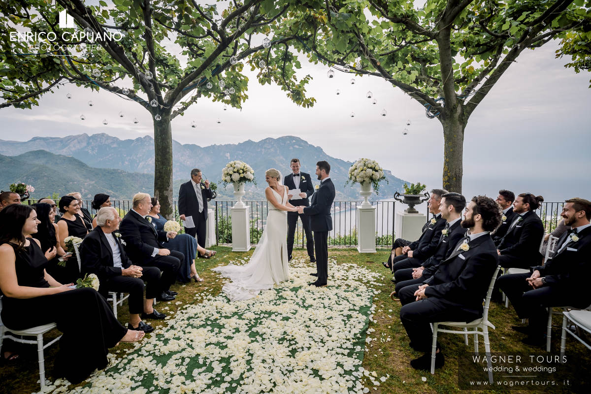 Ravello Wedding Destination Amalfi Coast Italy