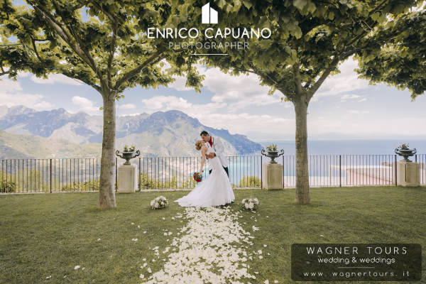 Ravello Symbolic Wedding Outdoor Cerimonies Blessing Renewall